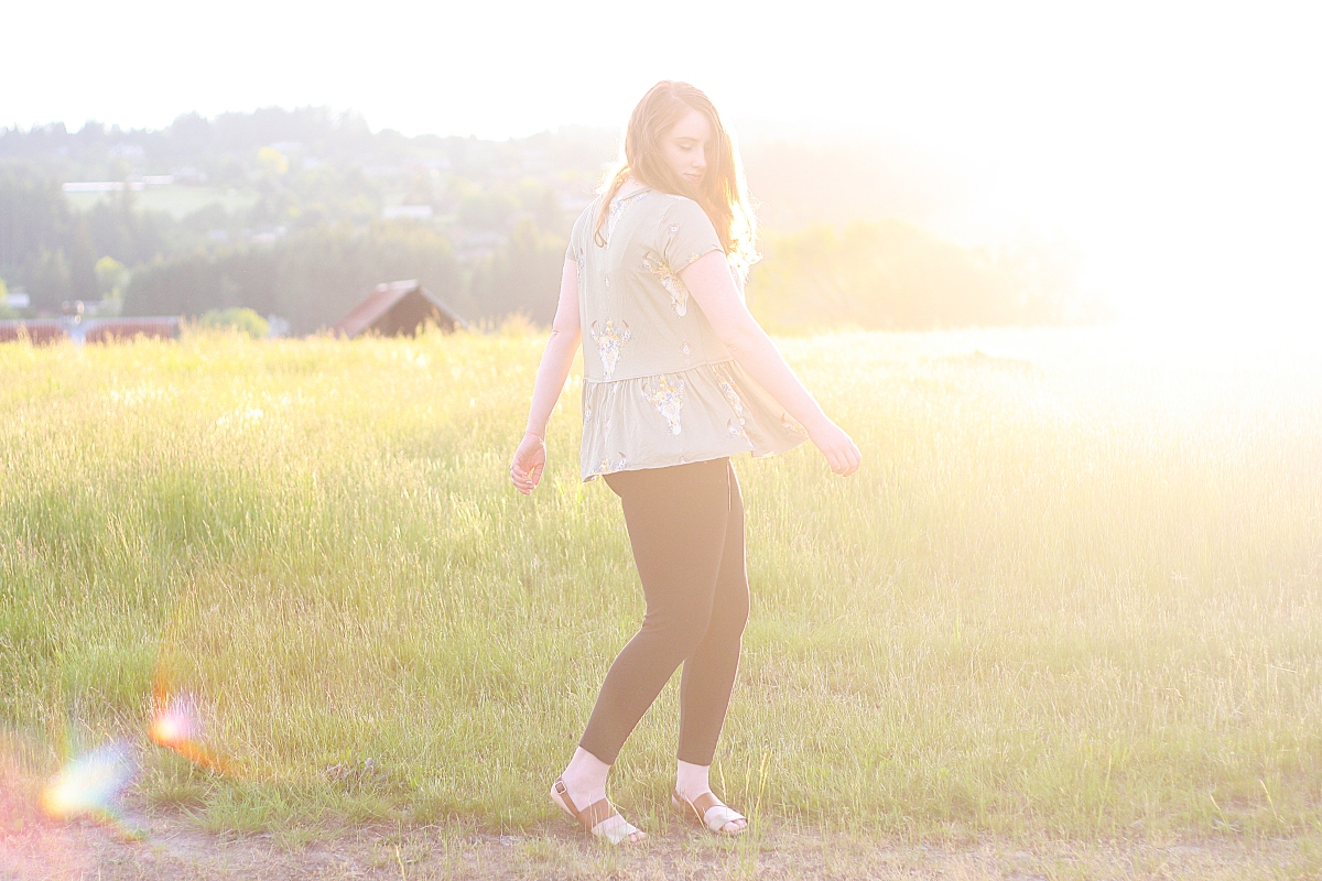 My summer bucket list + the perfect peplum t-shirt